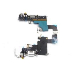 Flex con conector de carga lightning / conector de audio y micrófono con Cable Coaxial iPhone 6G