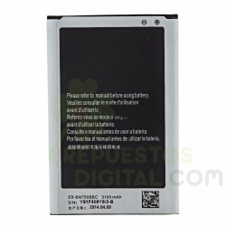 Batería EB-BN75BBC EB-BN75BBE para Samsung Galaxy Note 3 Neo, N7505 de 3100mAh