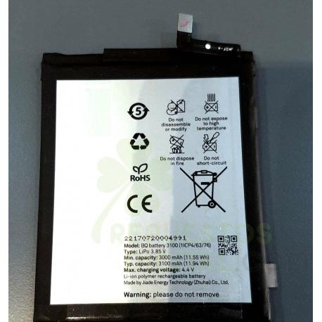 Bateria 3100 para BQ Aquaris X, BQ X de 3100mAh