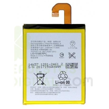BATERIA LIS1558ERPC SONY XPERIA Z3 (D6603)电池