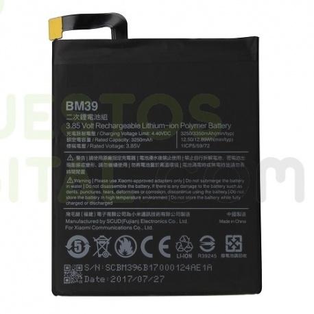Bateria BM39 para Xiaomi Mi6 de 3250mAh
