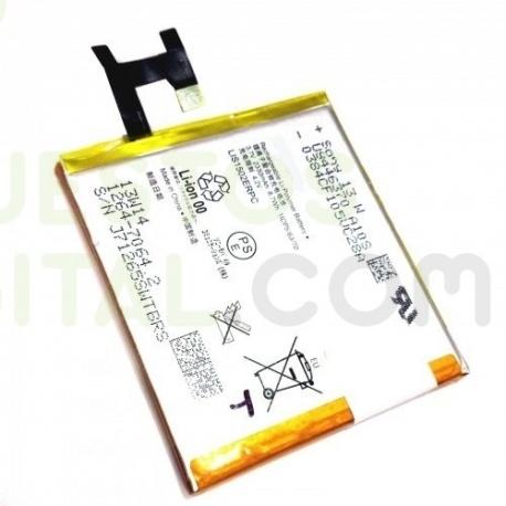 BATERIA M2 (D2303,D2305,D2306,S50H) M2 AGUA (D2304,D2406) E3 (D2203) Z (L36H, C6602, C6603) C (C2304, C2305, S39C, S39H)电池