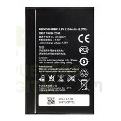 N128 Batería HB505076RBC Huawei Ascend A199, G606, G610 G610C G610T G610S, G700, G710(A199), C8815, Y3 II LUA-L21 de 2150mAh