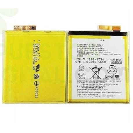 BATERIA LIS1576ERPC SONY XPERIA M4 (E2303,E2304,E2306,E2353) M4 AGUA DUAL (E2312,E2333,E2363)电池