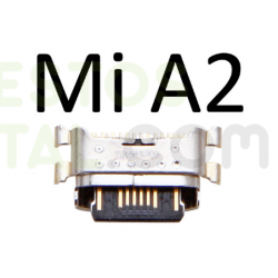 N27 CONECTOR DE CARGA TIPO-C Para Xiaomi Mi A2 / Mi 6X