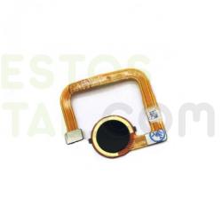 Flex De Conector De Carga Con Boton De Huella Para IPHONE 7G ( BLANCO-NEGRO )