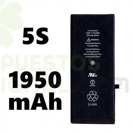 Bateria para iPhone 5S de 1950mAh / Con Capacidad Aumentada