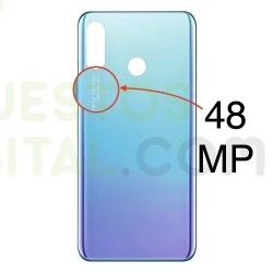 Tapa Trasera Para Huawei P30 Lite Color Azul Cielo