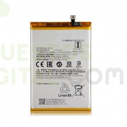 N74 Bateria BN56 Para Xiaomi Redmi Note 9 Pro de 4920 mAh SIN LOGO