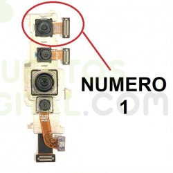 N346 Camara Trasera Numero 1 Para Xiaomi Mi Note 10 Lite