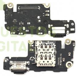 N77 Placa de Carga Tipo C y Lector de Sim Para Xiaomi Mi 10T PRO / Mi 10T 5G