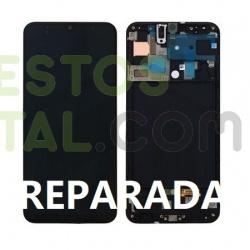 Pantalla Completa Original REPARADA Con Marco Para Samsung Galaxy A50 / A505