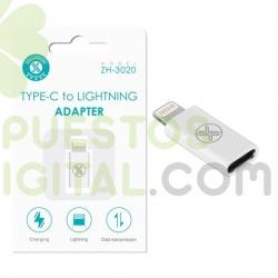 Adaptador de Tipo C a Lightning / ZH-3020 / MAXAM