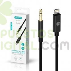 Adaptador / Cable De Lightning A Jack 3.5mm Audio / ZH-5030M / MAXAM