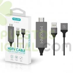 Cable HDMI De Universal Para Movil-TV / ZH-8270 / MAXAM