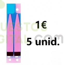 Pegatina De Bateria Para IPHONE 6G 6S 7G 8G / 1€ 5Unidades