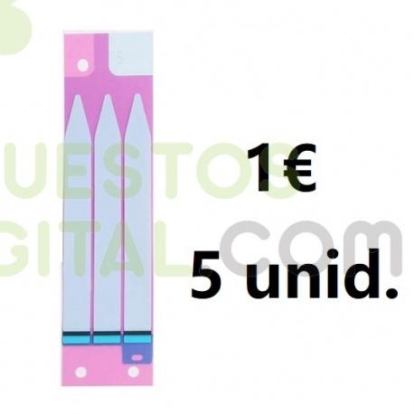 Pegatina de bateria para iPhone 6Plus 6S Plus 7G Plus 8G Plus / 1€ 5Unidades