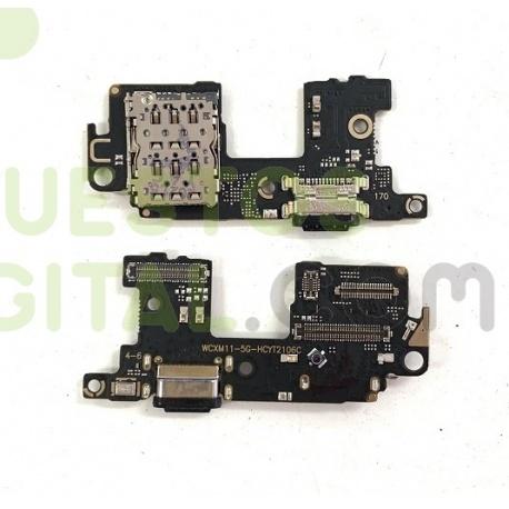 N85 Placa de Carga Tipo C y Lector Sim Para Xiaomi Mi 11