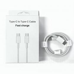 Cable Cargador De Cable Tipo C A Tipo C / Carga Rapida / Calidad Original (Un Año Garantia)