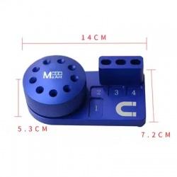 Soporte Magnetico Para Destornilladores y Accesorios / Color Azul / MY-509M