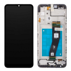 N52 Pantalla Completa Original Con Marco Para Samsung Galaxy A025G / A02S (VERSION 162mm)