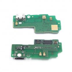 Placa Flex Conector carga MicroUSB para Huawei Honor 3X / G750