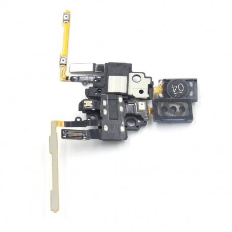 jack de audio y altavoz auricular para samsung g850f