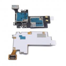 flex lector sim+lector tarjeta sd Samsung Galaxy Note 2 / N7100