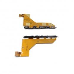 sony z3 d6603 flex lateral de carga