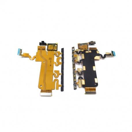 flex power boton encendido+volumen laterales para sony z1 l39h c6903