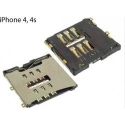 Conector con lector de tarjetas sim para Apple iPhone 4 / 4s