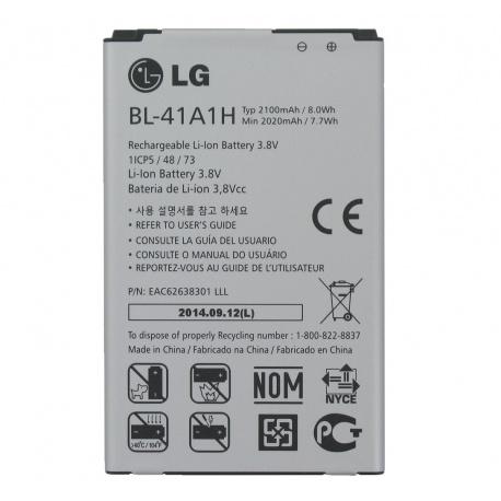 BATERIA BL-41A1H LG F60(D390N)电池