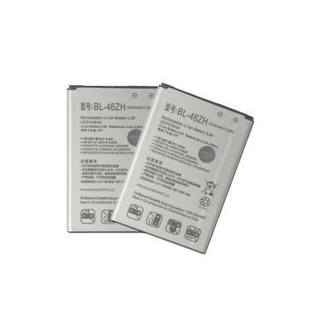 N210 Batería BL-46ZH para LG K7 X210 / LG K8 K350N de 2125mAh