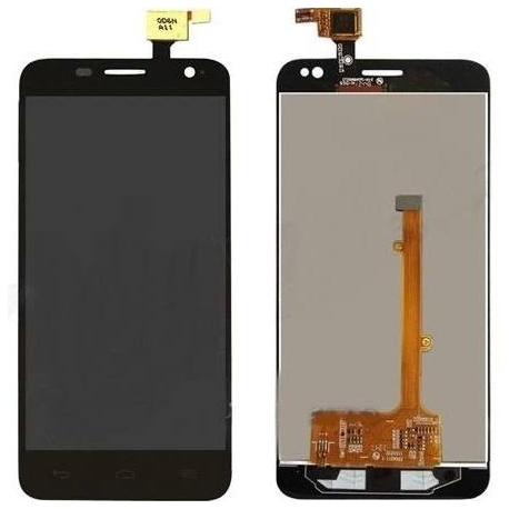 Alcatel Touch Idol Mini OT 6012D, 6012X, 6012A, Orange Hiro negra pantalla completa总成