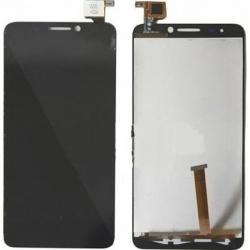 Alcatel OT 6030, 6030D, 6030X, Orange San Remo negra pantalla completa