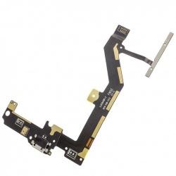Cable flex con conector de carga, pulsadores y micrófono para BQ Aquaris M4.5, Aquaris A4.5, Android One remanufacturado