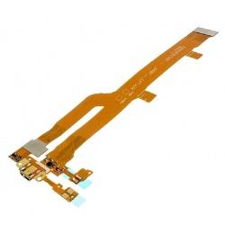 Circuíto flex con conector de carga y accesorios para tablet LG G Pad, V490