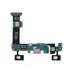 Circuíto flex con conector de carga y accesorios y conector de audio jack para Samsung Galaxy S6 Edge Plus, G928F