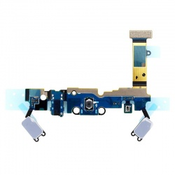 Circuito flex con conector de carga, micrófono y conector de audio jack, para Samsung Galaxy A5 (2016), A510