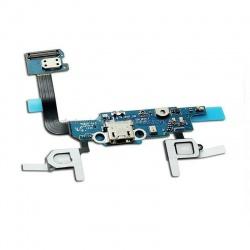 Flex con conector de carga y micrófono para Samsung Galaxy Alpha, G850F