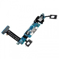 Flex con conector de carga, datos y accesorios micro USB para Samsung Galaxy S6, G920F