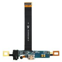 Flex con conector jack auriculares, microfono y conector de carga,accesorios Samsung i9070