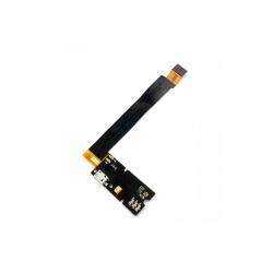 Flex inferior con conector de carga y micrófono para BQ Aquaris E4.5