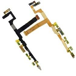 Flex de botones laterales con vibrador, sensor y micrófono para Sony Xperia Z5 Compact, E5823 E5803