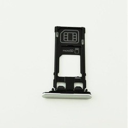 Bandeja SIM y SD blanca para Sony Xperia X, F5121