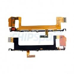 Flex de botones laterales y vibrador para Sony Xperia X, F5121