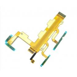 Flex con botones laterales y micrófono para Sony Xperia C3, D2502, D2533, S55T, S55T