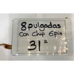 Num31 Tactil de tablet generica 8 pulgadas