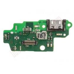 Placa auxiliar con conector de carga y accesorios y micrófono para Huawei G8 GX8
