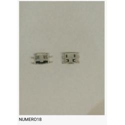 Num18 Conector carga USB universal
